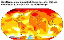 2019 trở thành năm nóng thứ 2 trong lịch sử