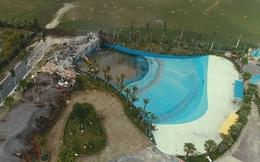 Công viên nước Thanh Hà xây không phép: Phó Chủ tịch phường từ chối trả lời 'vì sao đến giờ mới cưỡng chế'