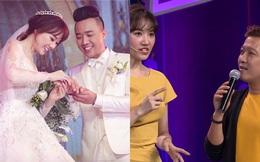 """Trường Giang hỏi Hari Won: Lấy Trấn Thành xong có ai ép phải """"rửa chồng"""" không?"""
