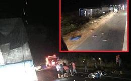 Xe khách bị lật ở Đắk Lắk, hơn 10 người thương vong