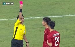 Báo Trung Quốc: Tấm thẻ đỏ của Đình Trọng là bi kịch tồi tệ với U23 Việt Nam