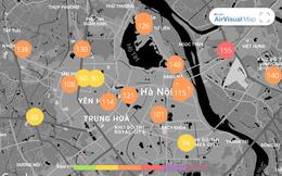 Chất lượng không khí ngày 18/1: Dù có mưa nhưng không khí ở Hà Nội xấu đi