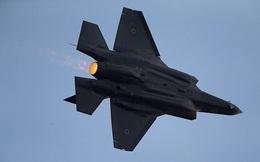 """Tiêm kích tối tân F-35 """"hiện nguyên hình"""" khi bay qua cơ sở hạt nhân của Israel"""