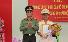 Bộ trưởng Bộ Công an bổ nhiệm nhân sự mới