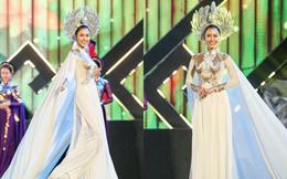 Hoa hậu Phan Thu Quyên xinh đẹp, thướt tha trong áo dài của NTK Nhật Dũng