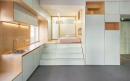 Độc đáo căn hộ 33 m2 có thể tháo lắp mọi thứ như một trò xếp hình