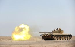 """Xe tăng T-72B3 Quân đội Syria nã đạn truy sát khủng bố ở """"chảo lửa"""" Idlib"""