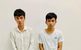 Hai thanh niên dùng dao truy sát người sau mâu thuẫn ăn nhậu ngày Tết