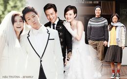 Những cuộc hôn nhân đáng ngưỡng mộ trong làng giải trí Hoa - Hàn: Người đủ trai đủ gái, người vẫn hạnh phúc dù chưa con cái