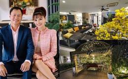Cận cảnh căn biệt thự mới của Vũ Thu Phương và chồng gốc Campuchia