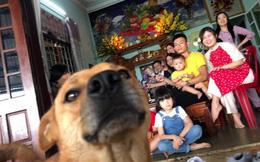 """Cô gái ấm ức khoe ảnh Tết: Cả gia đình """"đứng hình"""" bởi đối tượng lạ xuất hiện ở góc bên trái"""