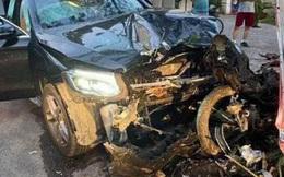 Truy tìm tài xế lái xe sang Mercedes tông chết tài xế GrabBike, làm tiếp viên hãng hàng không bị thương rồi bỏ trốn ở Sài Gòn