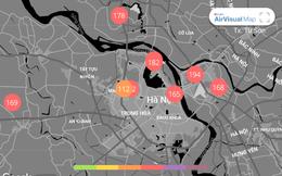 Chất lượng không khí ngày 31/1: Chỉ số bụi mịn lại tăng vọt sau kỳ nghỉ Tết