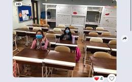Đăng ảnh cả lớp chỉ có đúng 2 em đi học vì lo sợ Corona, cô giáo Hà Nội khiến dân tình vừa phì cười vừa đồng cảm