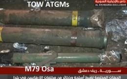 """Bí mật trong kho vũ khí """"khủng"""" vừa được QĐ Syria phát hiện ở Đông Ghouta"""