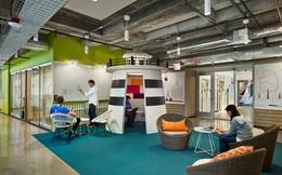 Choáng ngợp với cách Google đưa các nét đặc trưng văn hóa của cả một thành phố vào thiết kế văn phòng của mình