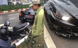 Bị người đàn ông vượt đèn đỏ đâm hỏng đầu siêu xe, chủ ô tô có hành xử bất ngờ