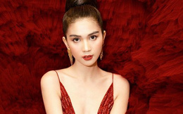 """Ngọc Trinh khoe vẻ đẹp lộng lẫy khi mặc váy """"siêu to"""""""