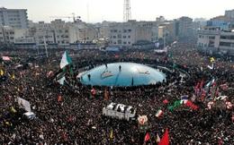 Thảm kịch kinh hoàng trong tang lễ tướng Iran Soleimani: Hàng chục người tử vong vì giẫm đạp