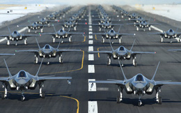 52 tiêm kích tối tân F-35A KQ Mỹ đồng loạt vào vị trí sẵn sàng chiến đấu