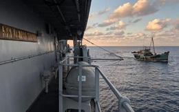 Indonesia tuần tra vùng biển Natuna