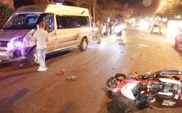Kết cục thảm khốc của xe máy vượt trái va chạm với 2 ô tô ở TP Đà Lạt