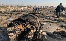 Tìm thấy hộp đen máy bay Ukraine rơi ở Iran