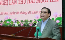 Bí thư Hoàng Trung Hải: Phát hiện dấu hiệu vi phạm của Ủy ban Kiểm tra quận, huyện chưa kịp thời