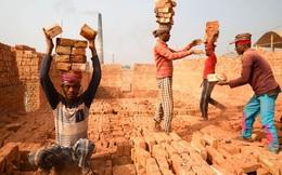 24h qua ảnh: Công nhân làm việc trong nhà máy gạch ở Bangladesh