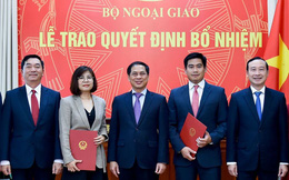 Nhân sự mới các Bộ Ngoại giao, Nội vụ, GD&ĐT