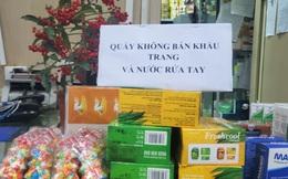 """Chợ thuốc lớn nhất Hà Nội đặt biển """"không bán khẩu trang, miễn hỏi"""""""