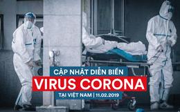 Diễn biến dịch nCoV ngày 11/2: Việt Nam có 15 ca nhiễm bệnh, loại trừ 723 ca nghi nhiễm