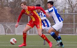 Thử sức ở vị trí mới, Văn Hậu vẫn khó được ra sân tại Heerenveen
