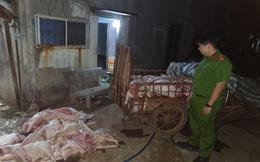 Mua lợn chết giá 50.000 đồng/con xẻ thịt bán cho công nhân
