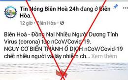 Lập Fanpage đưa tin sai sự thật về dịch Covid-19, thanh niên 9X ở Đồng Nai bị công an triệu tập