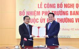Trao quyết định bổ nhiệm Phó Trưởng ban Dân nguyện UBTV Quốc hội
