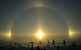 """""""Năm mặt trời"""" xuất hiện cùng lúc ở Nội Mông, người dân Trung Quốc sửng sốt"""