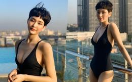 Hiền Hồ khiến dân mạng ngỡ ngàng trong lần hiếm hoi diện bikini