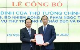 Công bố quyết định bổ nhiệm Thứ trưởng Bộ GD-ĐT Phạm Ngọc Thưởng