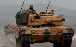Xe bọc thép Mỹ chặn đầu Quân cảnh Nga, Thổ Nhĩ Kỳ điều hàng loạt xe tăng Leopard áp sát biên giới Syria
