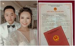 """Câu chuyện tình đằng sau giấy đăng ký kết hôn của cô dâu 89, chú rể 99 gây """"sốt"""" MXH"""