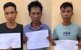 Tạm giữ 3 gã đàn ông chặn xe dưa hấu bắt nộp tiền