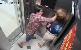Cô gái trẻ bị người đàn ông túm tóc, đánh đập dã man trong thang máy tại chung cư Trung Đông Plaza ở Sài Gòn