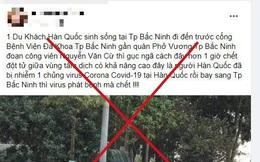 Xác định nguyên nhân người đàn ông Hàn Quốc gục giữa đường sau đó tử vong ở Bắc Ninh
