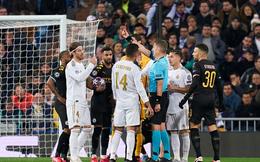 Thủ quân Real chạm mốc kỷ lục bị đuổi khỏi sân với chiếc thẻ đỏ thứ 26 trong sự nghiệp, xem lại pha quay chậm mới thấy trọng tài hơi nặng tay