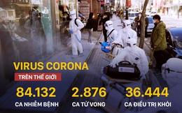 COVID-19: Hàng loạt nước xuất hiện ca nhiễm đầu tiên, Hàn Quốc có số ca mới cao nhất thế giới