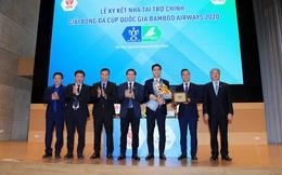 Bóng đá Việt Nam nhận tài trợ khủng từ Bamboo Airways