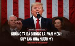 Toàn văn Thông điệp Liên bang 2020 của Tổng thống Mỹ Donald Trump