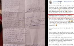 Đọc tờ giấy chồng viết trước ngày ra mắt bố mẹ mình, cô vợ thích thú quyết để dành cho con gái đọc