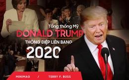 Thông điệp liên bang: Bài hùng biện đanh thép của ông Trump cho cuộc đua tái tranh cử